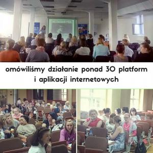 omówiliśmy działanie ponad 30 platform i aplikacji internetowych